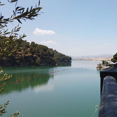Málaga: Embalse Conde de Guadalhorce