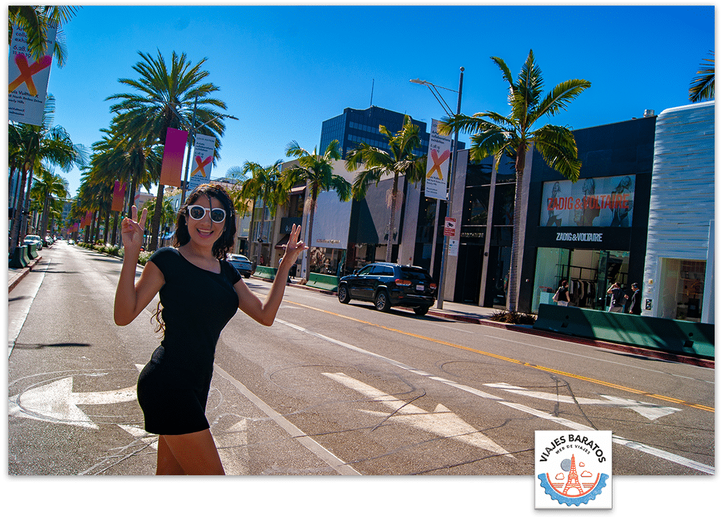 Viaje Los Angeles - Calle Rodeo Drive Walk Of Style